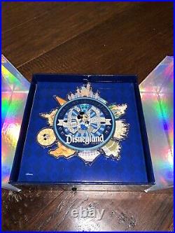 Disneyland 60th Anniversary Diamond Celebration Jumbo Spinner Pin LE 1000