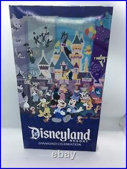 Disneyland 60th Anniversary Diamond Celebration Park Exclusive Doll Unopened Box