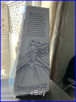 Disneyland 60th Anniversary Limited Edition Aurora Blue Diamond Designer Doll