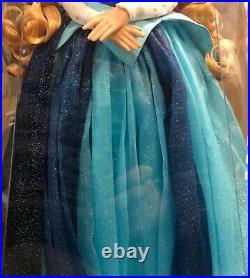 Disneyland 60th Anniversary Limited Edition Aurora Blue Dress Designer Doll 17
