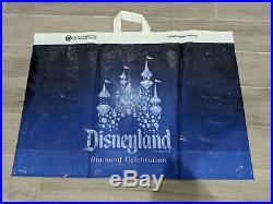 Disneyland 60th Anniversary Limited Edition Princess Aurora Doll + Shopping Bag