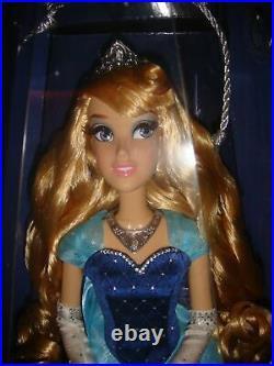 Disneyland 60th Anniversary Limited Edition Sleeping Beauty Aurora Doll NIB