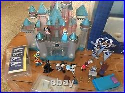 Disneyland 60th Diamond Anniversary Sleeping Beauty Castle Light Up Playset