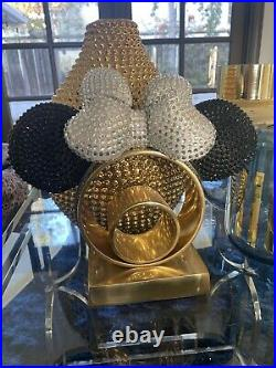 Disneyland 60th anniversary minnie mouse ear headband Swarovski crystals