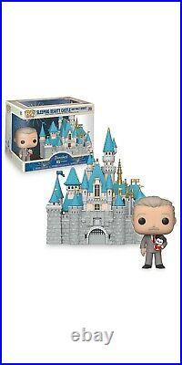 Disneyland 65t Anniversary Sleeping Beauty Castle with Walt Disney Funko PRESALE