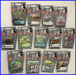 Disneyland 65th Anniversary 65 Years of Magic 2020 Complete 13 LE Disney Pin Set