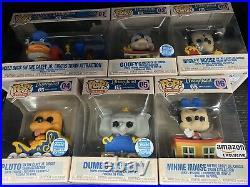 Disneyland 65th Anniversary Funko Train Complete Set