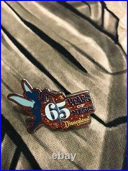 Disneyland 65th Anniversary Mystery Pins Full Set, Including Chaser. VHTF