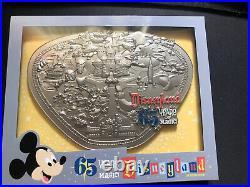 Disneyland 65th Anniversary Park Map Jumbo Pin