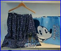 Disneyland 65th Anniversary Skirt SOLD OUT Walt Mickey by Her Universe 1X