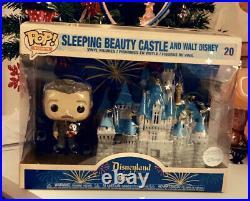 Disneyland 65th anniversary walt castle funko pop