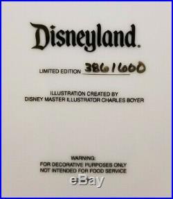 Disneyland CLUB 33 30th Anniversary Plate Limited Edition 386 of 600 Walt Disney