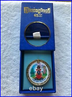 Disneyland CLUB 33 65th Anniversary Opening Day Attraction TRAIN Railroad Pin LE