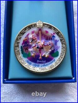 Disneyland CLUB 33 65th Anniversary Opening Day King Arthur Carousel LE Pin
