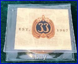 Disneyland CLUB 33 CHALLENGE COIN 50th Anniversary EST. 1967 NIP Disney