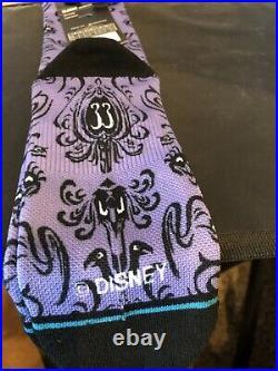Disneyland Club33 Haunted Mansion Socks For The 50Th Anniversary