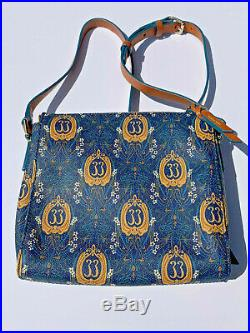 Disneyland Club 33 50th Anniversary Dooney & Bourke Peyton Crossbody Bag EUC