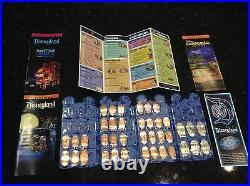 Disneyland Diamond 60th Anniversary Pressed Penny 39 Coin Set In Book Holder