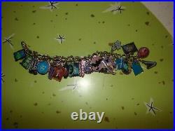 Disneyland Haunted Mansion 40th Anniversary SHAG Charm Bracelet 30 Charms LE 999