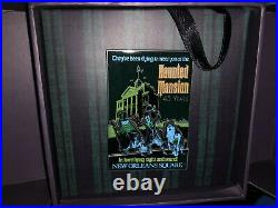 Disneyland Haunted Mansion 45th Anniversary Hitchhiking Ghosts Poster Pin LE 500