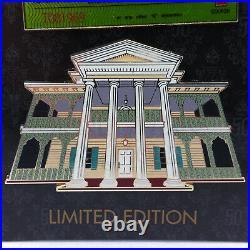 Disneyland Haunted Mansion 50th Anniversary E Ticket & Facade Exterior Pin Set