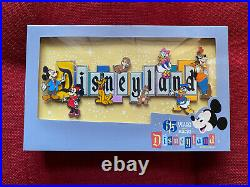 Disneyland Marquee 65th Anniversary Boxed Jumbo Pin Limited