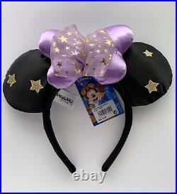 Disneyland Paris 25TH Anniversary Minnie Ears Headband LE Rare NWT