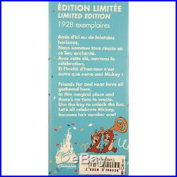 Disneyland Paris Exclusive Mickey Mouse LE 90th Anniversary Key Map 1928