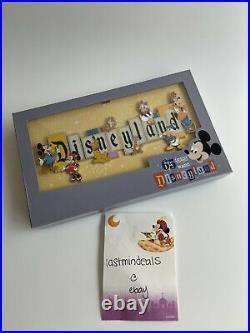 Disneyland Park 65th Anniversary 65 Years Of Magic Marquee Jumbo Box Pin LE 1000