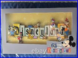 Disneyland Park 65th Anniversary Disneyland Marquee Boxed Jumbo Pin Limited 1000