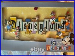 Disneyland Park 65th Anniversary Disneyland Marquee Boxed Jumbo Pin Limited 1500