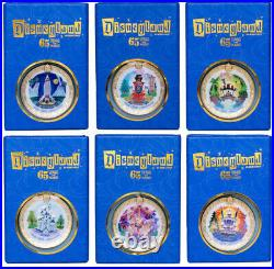 Disneyland Park 65th Anniversary Framed Pin Set CLUB 33