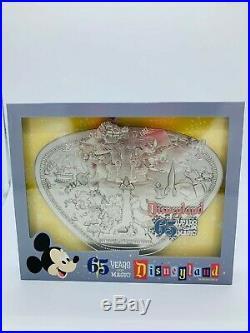 Disneyland Park 65th Anniversary Limited Edition Park Map Jumbo Pin Same Day Shi