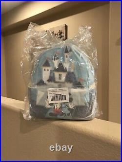 Disneyland Park 65th Anniversary Loungefly Disney Mini Backpack IN HAND