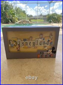 Disneyland Park 65th Anniversary Marquee Boxed Jumbo Pin Free & Fast Shipping