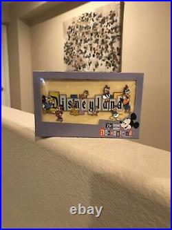 Disneyland Park 65th Anniversary Marquee Boxed Jumbo Pin Limitedin Hand