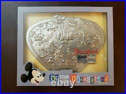 Disneyland Park 65th Anniversary Park Map Boxed Jumbo Pin LE 1500 FREE SHIP