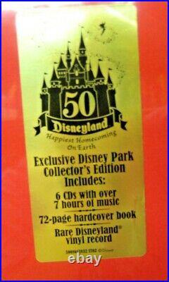 Disneyland Resort 50th Anniversary MUSICAL HISTORY OF DISNEYLAND NEW