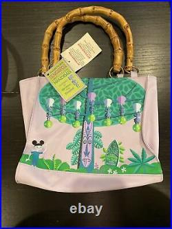 Disneyland/Shag 40th Anniversary Tiki Room Tangaroa Print Handbag NEW! SIGNED