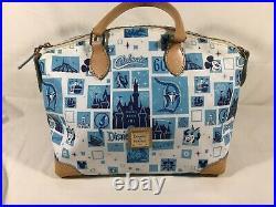 Dooney & Bourke Disney Disneyland 60th Anniversary satchel