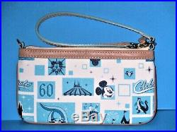 Dooney and Bourke Disneyland 60th Anniversary wristlet + Bonus Tote & String Bag
