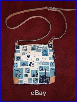 EUC Disney Dooney and Bourke Disneyland 60th Diamond Anniversary Crossbody Bag