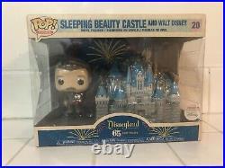 Funko POP! Disneyland 65th Anniversary Sleeping Beauty Castle and Walt