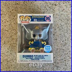 Funko POP Dumbo Casey Jr Train Funko Shop Exclusive Disneyland 65th Anniversary