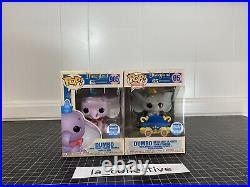 Funko POP! Dumbo Casey Jr and Purple Set Funko Shop LE Disneyland Anniversary