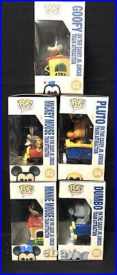 Funko POP! Trains Disneyland Resort 65th Anniversary Casey Jr Train FULL SET