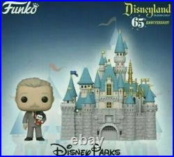 Funko Pop 65th Anniversary Disneyland Castle with Walt Disney. Confirmed