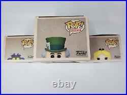 Funko Pop Bundle Disneyland Anniversary Mad Hatter 87 Alice 973 Cheshire Cat 974