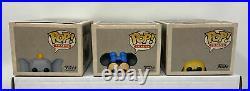 Funko Pop! Disneyland 65th Anniversary Casey Jr. Train COMPLETE Set of 6 RARE