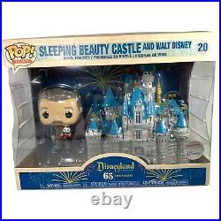 Funko Pop Disneyland 65th Anniversary Sleeping Beauty Castle & Walt Disney #20